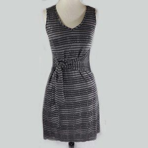 H by Halston black & gray vintage dress, XLP